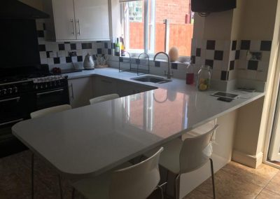Stella Blanco Quartz Fitted In St Helens