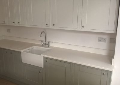 Absolute White Quartz Fitted In Widnes