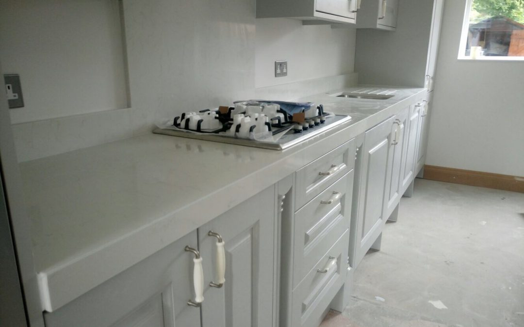 Bianco Carrara Quartz Fitted In Widnes