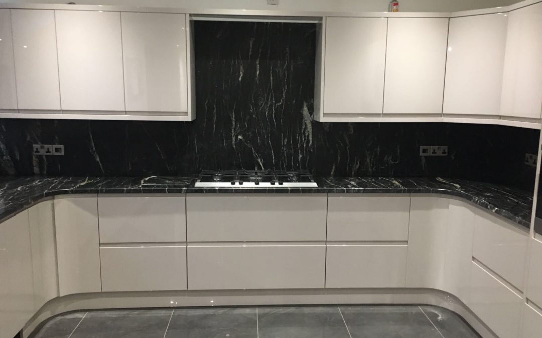 Black Pearl Granite Fitted In St Helens