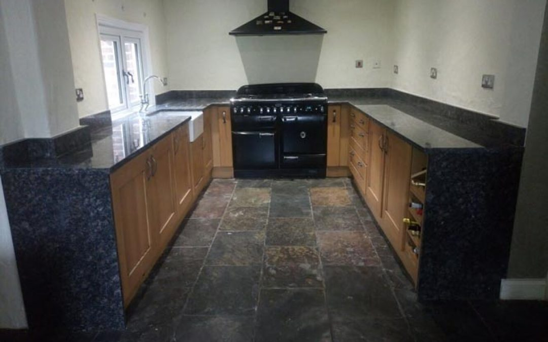 Sapphire Brown Granite Fitted In Warrington